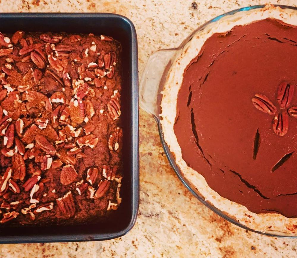 Thanksgiving Desserts Pecan Pie Pumpkin Pie More: Whole Foods Plant Based